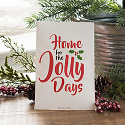 Home for the Jolly Days Sachet