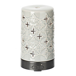 Embossed Petal Ultrasonic Essential Oil Diffuser