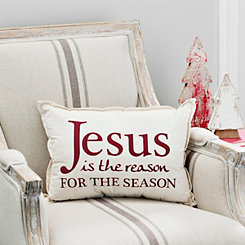 Jesus Is the Reason Accent Pillow
