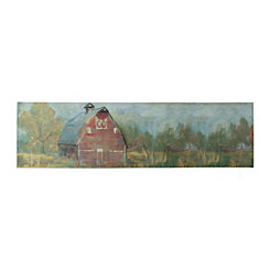 Rustic Barn Canvas Art Print