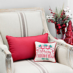 Mini Merry Christmas Christmas Pillow