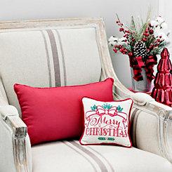 Mini Merry Christmas Christmas Pillow