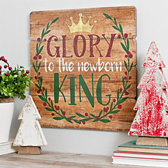 Newborn King Wooden Wall Plaque