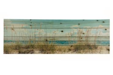 Sand Dunes Wood Art Print, 36x12