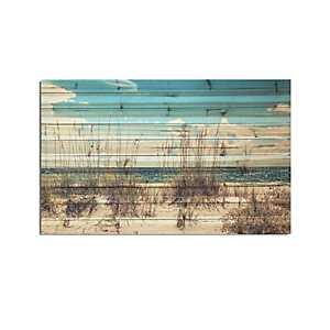 Sand Dunes Wood Art Print, 48x30