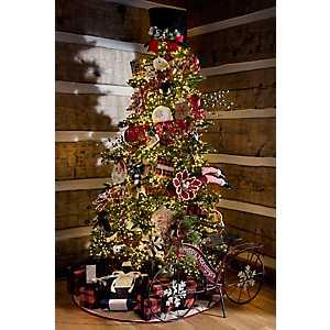 7 ft. Cluster Light LED Christmas Tree