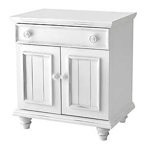 Bright White 2-Door Cabinet