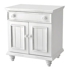 Bright White 2-Door Cabinet
