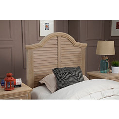 Driftwood Twin Panel Headboard