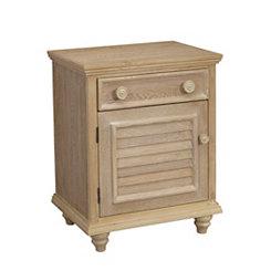 Driftwood 1-Door Cabinet