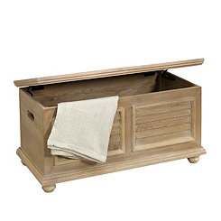 Driftwood Wooden Storage Trunk