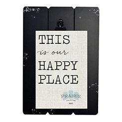 Black Prairie Clip Frame, 4x6