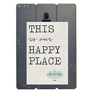 Gray Prairie Clip Frame, 4x6