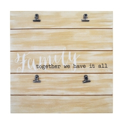 Together We Have It All Collage Clip Frame