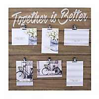 Together Is Better Collage Clip Frame