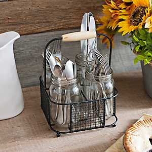 Chicken Wire Caddy