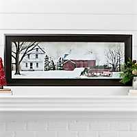 Christmas Trees For Sale Framed Art Print
