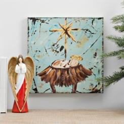 Baby Jesus Canvas Art Print
