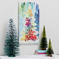 O Christmas Tree LED Canvas Art Print
