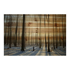 Papineau Wood Art Print