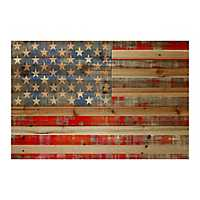 American Dream Wood Art Print
