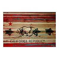 California Wood Art Print