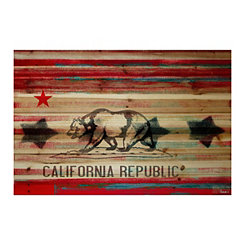 California Wood Art Print