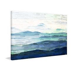 Mountain Tops Canvas Art Print
