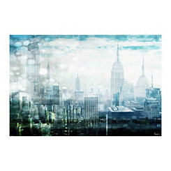 New York Nights Canvas Art Print