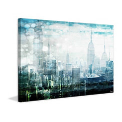 New York Nights Canvas Art Print