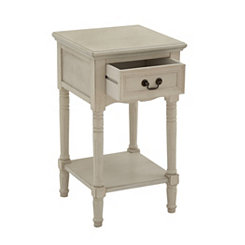 Ava Ivory Side Table