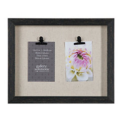 Distressed Black 2-Clip Collage Frame