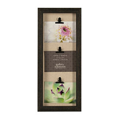 Distressed Black 3-Clip Collage Frame