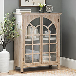 Sarah Arch Windowpane Cabinet