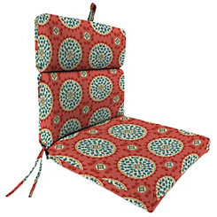 Johara Watermelon Outdoor Chaise Lounge Cushion