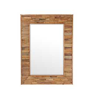 Organic Wooden Frame Mirror