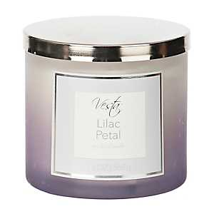 Lilac Petal Spa Jar Candle