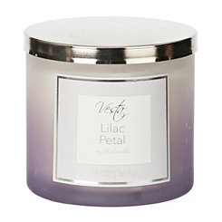 Lilac Petal Spa Jar Candle