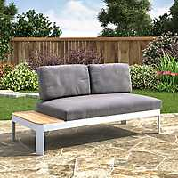 Rosa Convertible Outdoor Lounger and Loveseat