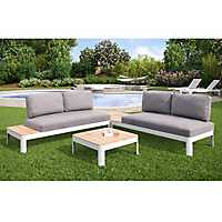 Rosa Convertible Outdoor Set, Set of 4