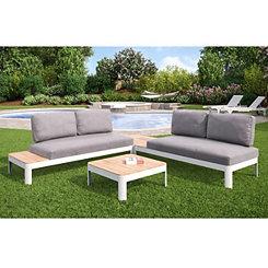 Rosa Convertible Outdoor Set, Set of 4