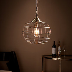 Ralla Round Cage Pendant Light