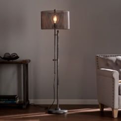 Zetes Industrial Floor Lamp