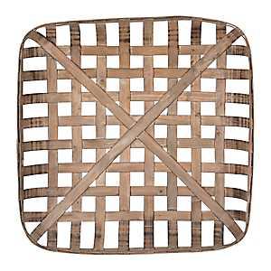 Wooden Tobacco Basket, 24 in.