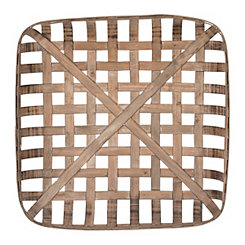 Wooden Tobacco Basket, 24 in.