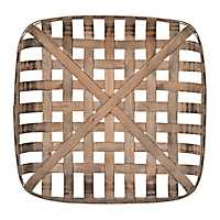 Wooden Tobacco Basket, 20 in.