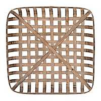 Wooden Tobacco Basket, 29.5 in.
