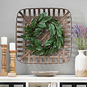 Wooden Tobacco Basket, 29.5 in.