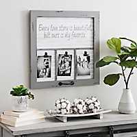 Love Story Windowpane Collage Frame
