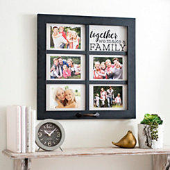 Together Windowpane Collage Frame